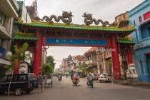 Surabaya Chinatown gate