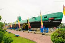 Monkasel (Submarine Monument) in Surabaya, East Java, Indonesia