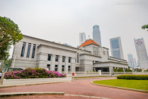 Singapore Parliament House at the Civic District, in Singapore