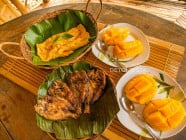 Food at Nature's Eye Beach Resort, Tando, Nueva Valencia, Guimaras, Philippines
