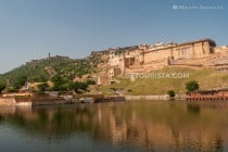 Amber Fort in Amber, Jaipur, Rajasthan, India