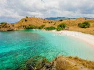 Pink Beach, Komodo National Park, East Nusa Tenggara, Indonesia