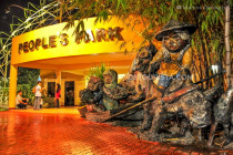 People's Park in Davao City, Philippines