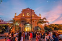 Dumaguete Cathedral in Dumaguete City, Oriental Negros, Philippines